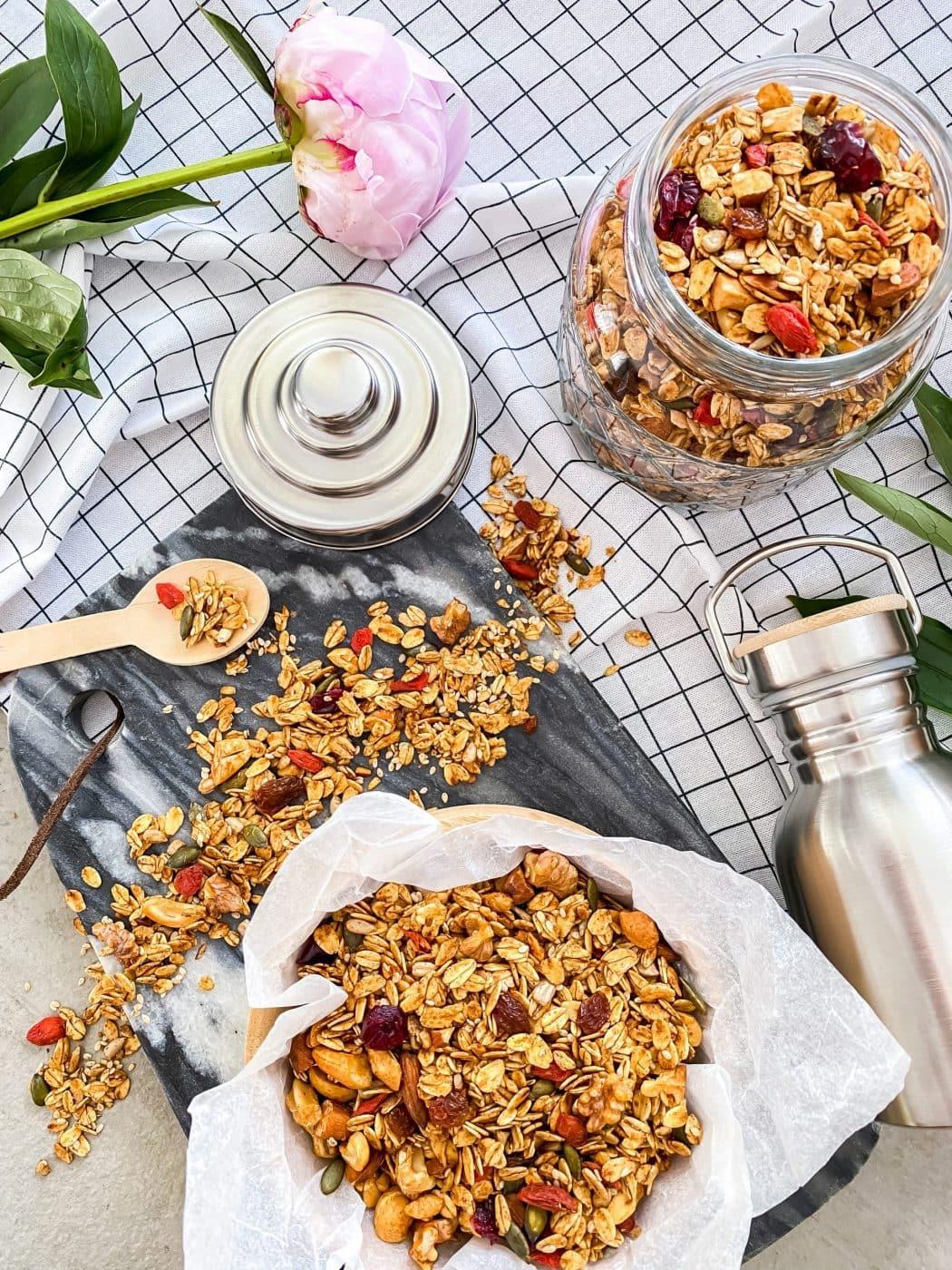 Brain Boost Granola | The Taste Of Love