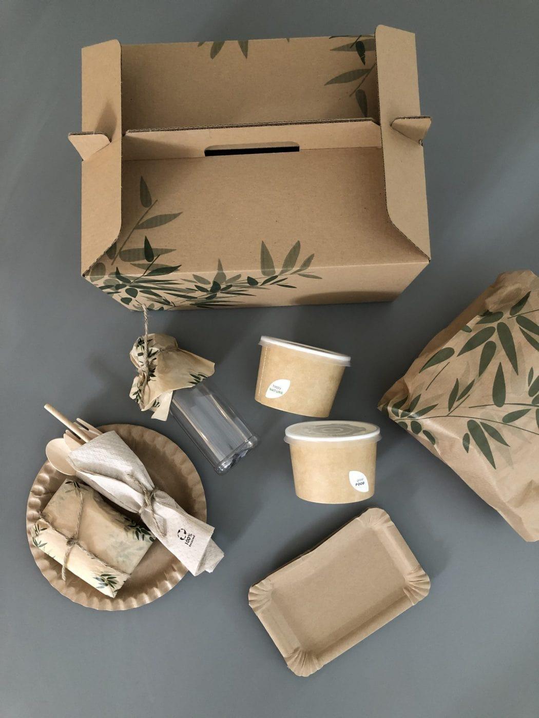 Verpakkingsmateriaal Ontbijtbox