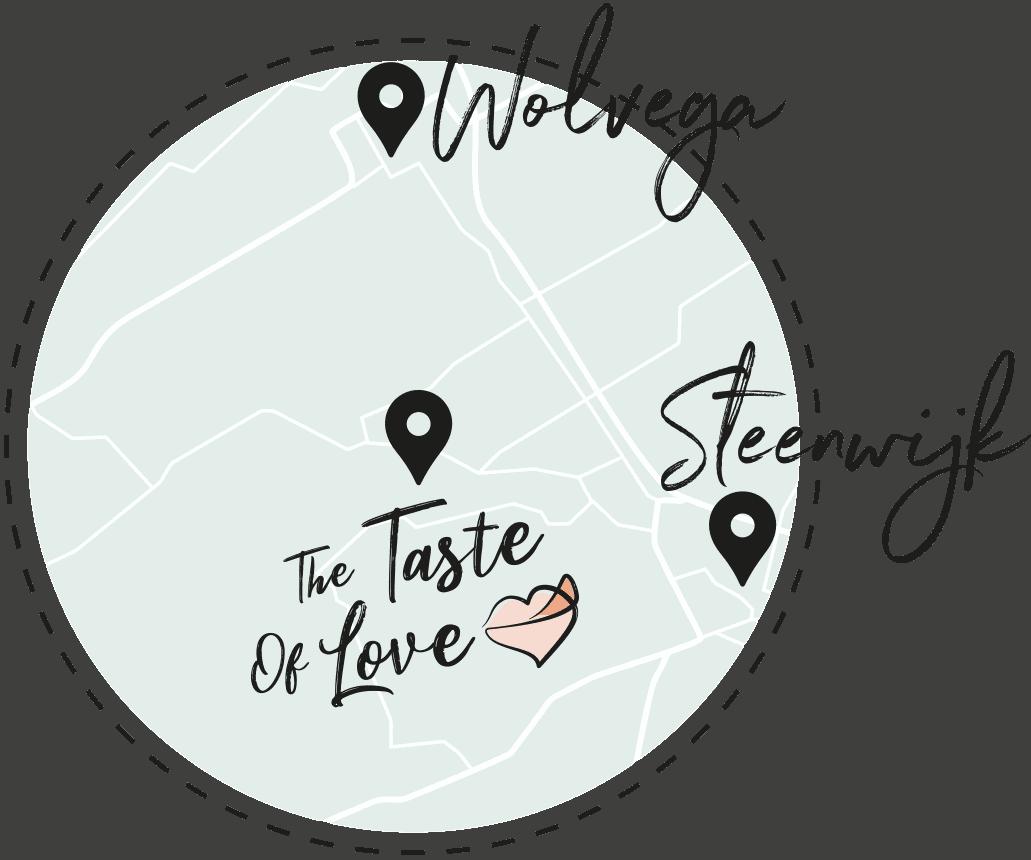 Plattegrond - The Taste Of Love